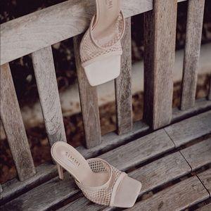 Simmi mesh heels